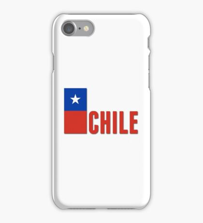 World Cup: Chile iPhone Case/Skin