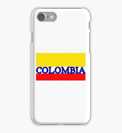World Cup: Colombia iPhone Case/Skin