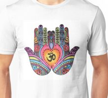 Om Mandala Hands Unisex T-Shirt