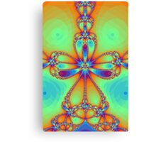 Tropical Star Canvas Print