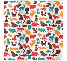 Animal Pattern Poster