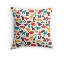 Animal Pattern Throw Pillow