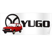 YUGO - WORST CAR IN HISTORY Poster