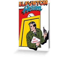 ELEVATOR ACTION TAITO ARCADE Greeting Card