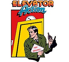 ELEVATOR ACTION TAITO ARCADE Photographic Print