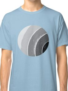 Brush Abstract 4 Grey Classic T-Shirt