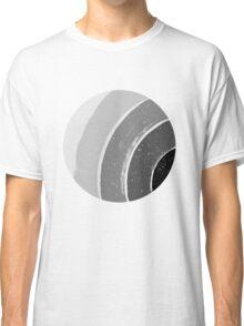 Brush Abstract 4 Grey Classic T-Shirt