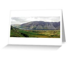 Wastwater, Lake District National Park, UK Greeting Card