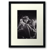 Kellin Quinn of Sleeping With Sirens Framed Print