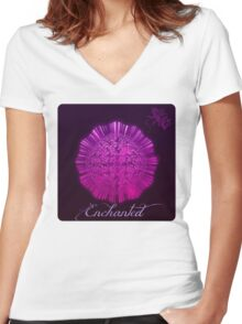 enchanted Women's Fitted V-Neck T-Shirt