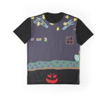 Monster Under the Bed Graphic T-Shirt