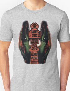 The Rabbit in Red Unisex T-Shirt