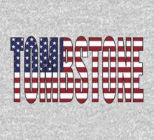 Tombstone USA Flag Kids Tee