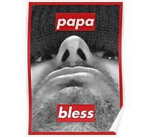 h3h3 / papa bless / Vapenation shirt - phone case - ect Poster