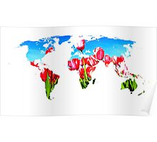 World of Tulips Poster
