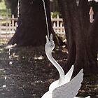 Goose Fountain by Lynn Starner