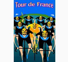 """TOUR DE FRANCE"" Art Deco Bike Racing Print Unisex T-Shirt"