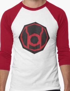 Red Lantern Corps symbol Men's Baseball ¾ T-Shirt