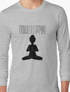 Yoga+pray female Long Sleeve T-Shirt