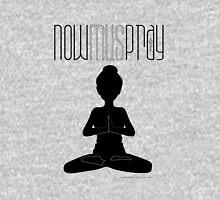 Yoga+pray female Womens Fitted T-Shirt