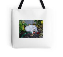 Casper!  I'll tend to the watering! Tote Bag