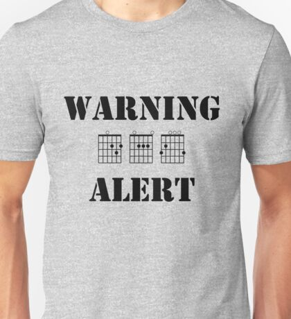 Warning, DAG alert Unisex T-Shirt