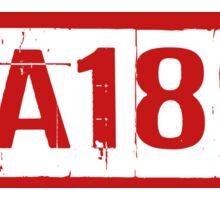 FTA 1895 (WHITE) Sticker