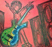 Funk Bass by eliza-paul