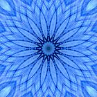 Blue Lace Agate Mandala by haymelter