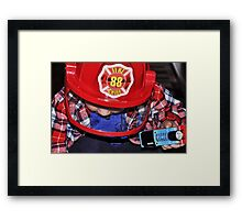 Always At The Ready Framed Print
