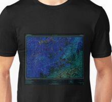 USGS TOPO Map Alaska AK Mount McKinley 361202 1969 250000 Inverted Unisex T-Shirt