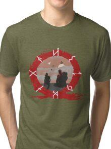 GoW4 Tri-blend T-Shirt