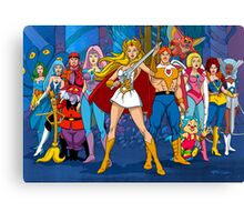 The Great Rebellion Filmation style Canvas Print