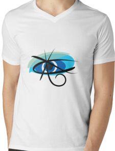 The third eye is blue Mens V-Neck T-Shirt