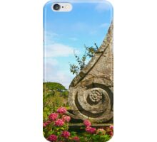 Decoration in a Bucolic Garden iPhone Case/Skin