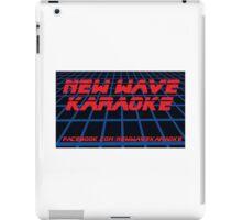New Wave Karaoke - BladeRunner Font - Tablet Case iPad Case/Skin