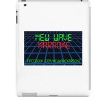 New Wave Karaoke - Digital Font - Tablet Case iPad Case/Skin