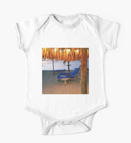 Beach View One Piece - Short Sleeve