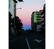The Christchurch Dusk  Photographic Print
