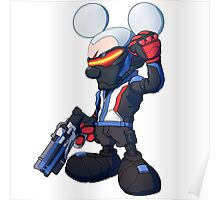 Mouse Soldier Poster