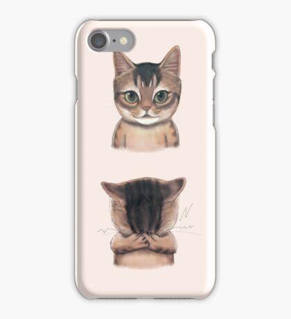 Coco - the chocolate cat iPhone Case/Skin