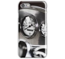 Vintage Classic Car Dashboard iPhone Case/Skin