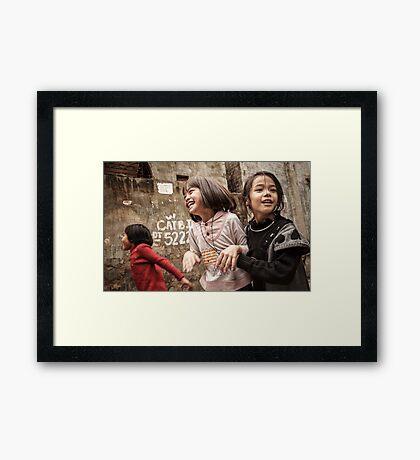The Joys of Youth Framed Print