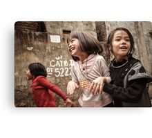 The Joys of Youth Canvas Print