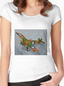 Airborn  Women's Fitted Scoop T-Shirt