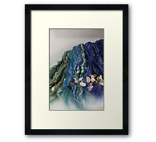 Sea of Fibre Framed Print
