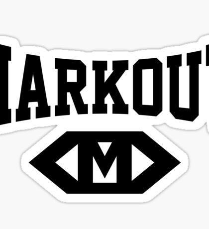 Markout (Black) Sticker