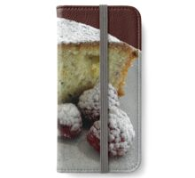 Scrumptious Raspberry Cake iPhone Wallet/Case/Skin