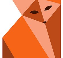 Origami Fox by SarahSanderson