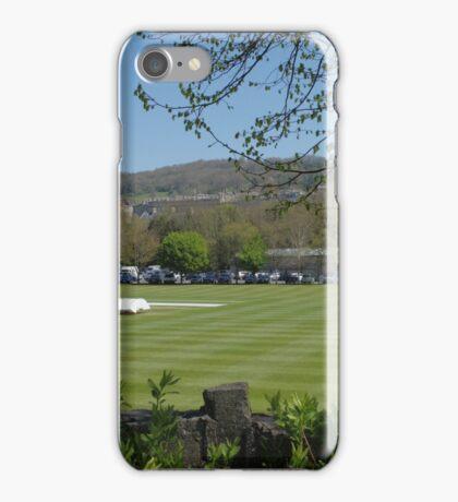 Bath Cricket Ground iPhone Case/Skin
